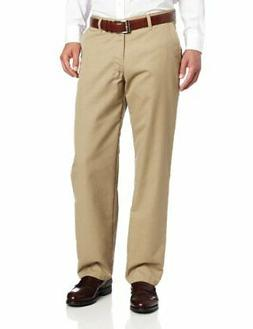 Lee Men's Total Freedom Relaxed Fit Flat Front Pant - 36W x
