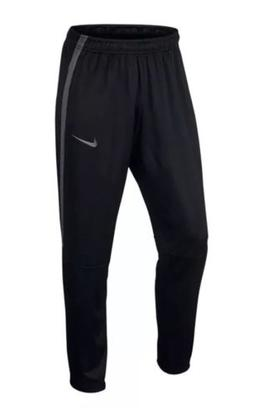 Nike Training Pants 940241-010 Men's Epic Knit Open Hem Blac