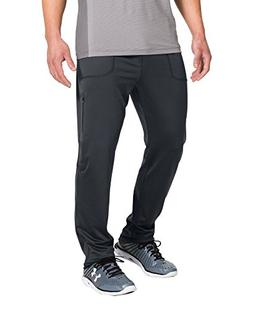 Mens Under Armour Elevated Tapered Knit Pant, Anthracite/Cha