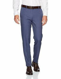 Van Heusen Men's Slim Fit Traveler Flat Front Pant