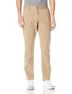 Dockers Men's Washed Khaki Athletic-Fit Slim Tapered Pant, N