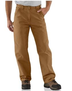 Carhartt Men's Washed Duck Work Dungaree Utility Pant B11,Ca