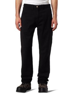 Carhartt Men's Washed Twill Dungaree Relaxed Fit,Black,34 x
