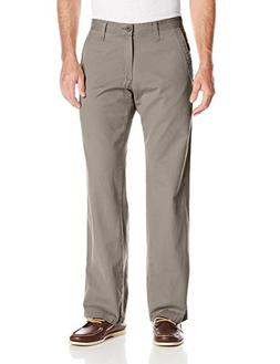 Lee Men's Weekend Chino Straight Fit Flat Front Pant, Sage,