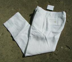 white just p flat front 100 percent