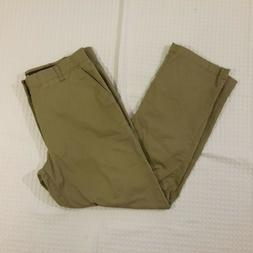 Lee X-Treme Comfort Mens Flat Front Straight Fit Khaki Pants